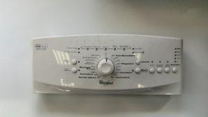 panel pračky Whirlpool
